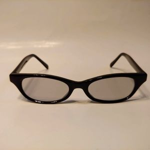 Vintage 90's Rectangle Lady Fashion Sunglasses